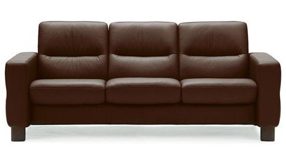 Stressless Wavelow Back Reclining Sofa