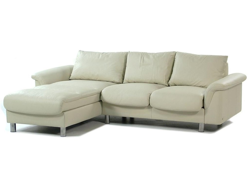 Stressless By Ekornes E300 Ergo Leather Reclining Sectional W