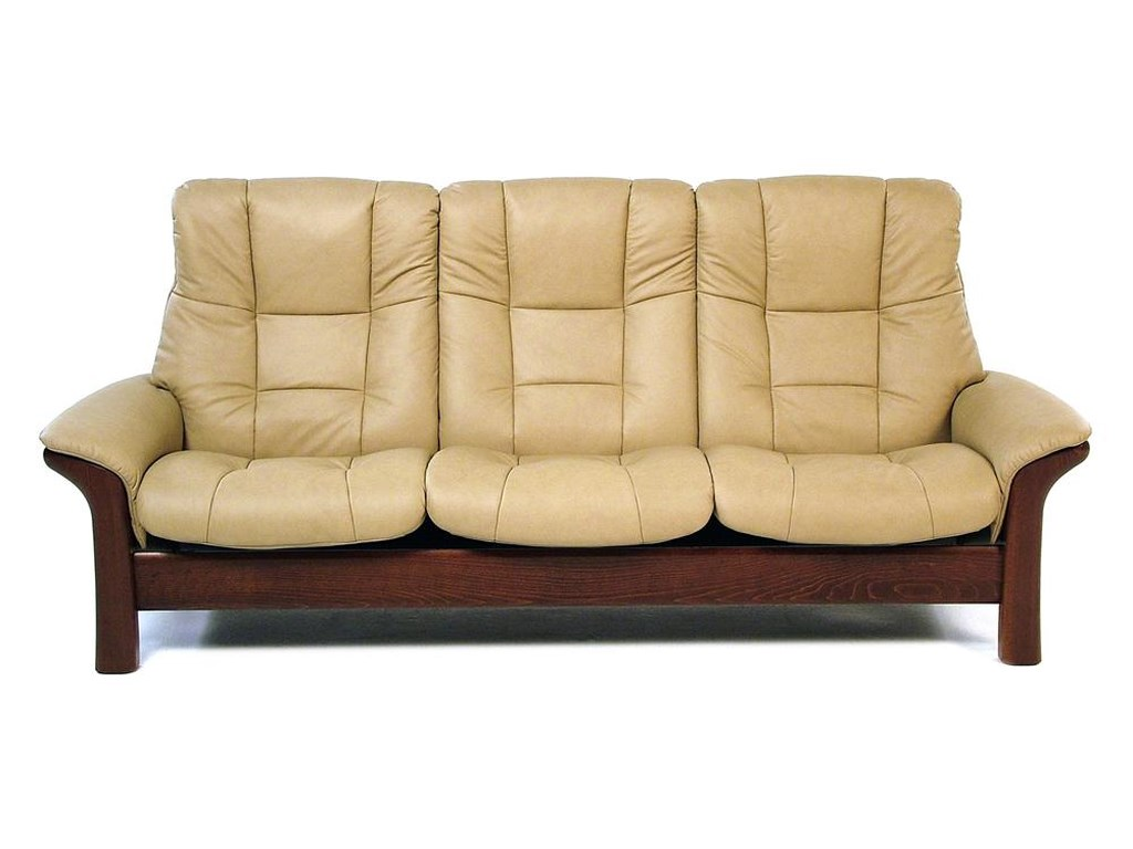 Buckingham High-Back 3-Seater Reclining Sofa by Stressless at Rotmans