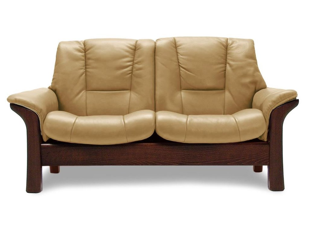 Buckingham Low-Back 2-Seater Reclining Loveseat
