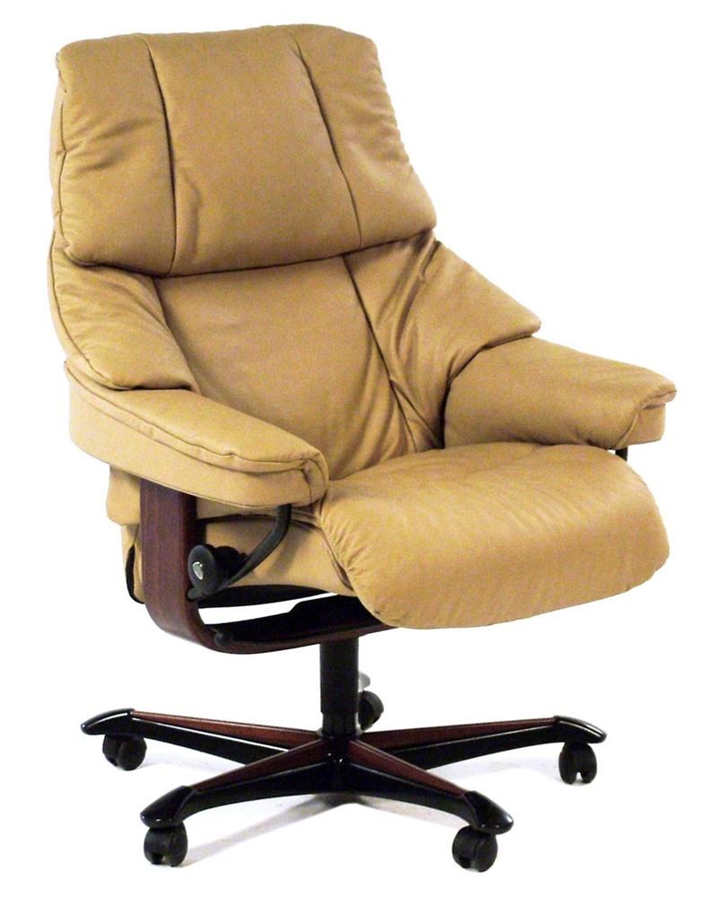 Stressless By Ekornes Stressless OfficeReno Office Chair ...