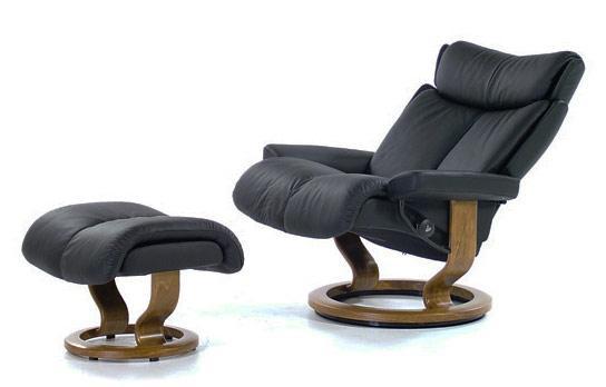 stressless by ekornes stressless recliners magic large paloma black u0026 teak