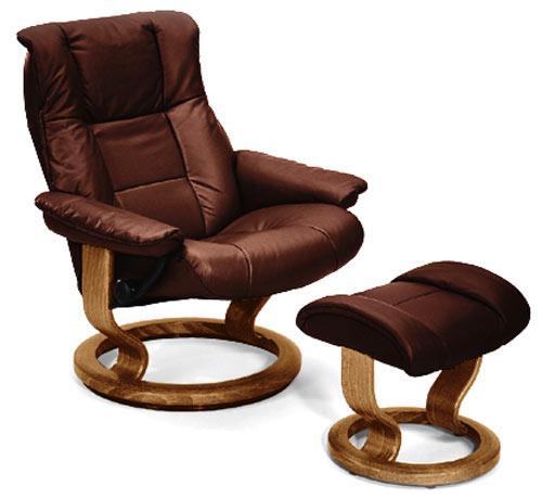 stressless by ekornes stressless recliners mayfair large recliner u0026 ottoman - Stressless Chairs