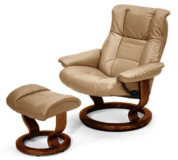 Stressless by Ekornes Stressless Recliners Mayfair Medium Recliner/Ottoman Paloma Sand u0026 Walnut  sc 1 st  Rotmans & Stressless by Ekornes Stressless Recliners Mayfair Medium Recliner ... islam-shia.org