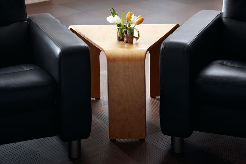 Stressless By Ekornes TablesCorner Table : Walnut ...