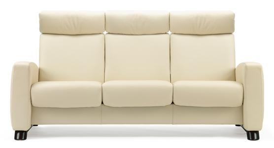 Stressless ArionHigh-Back 3 Seater Sofa with Arms