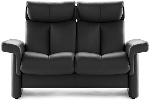 Stressless Legend High-Back Reclining Loveseat