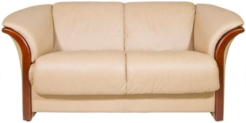 Stressless Manhattan Loveseat with Flared Arms