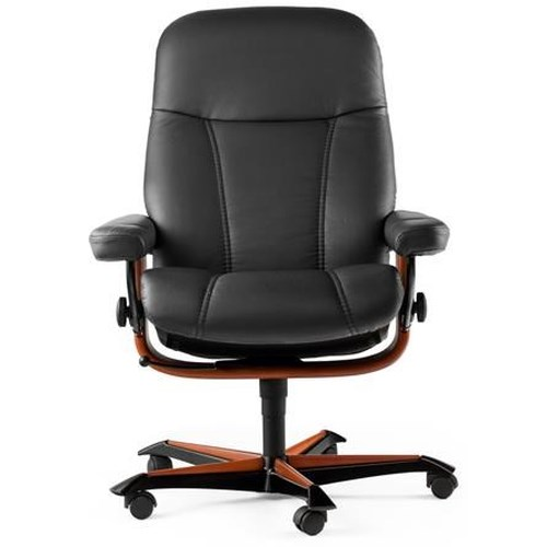 Stressless by Ekornes Home Office Consul Office Chair with Lumbar Support