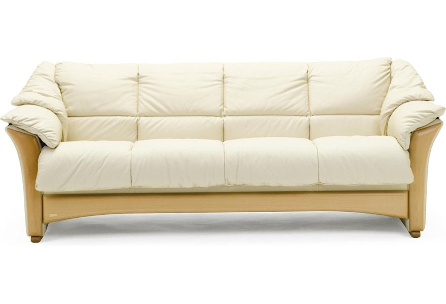 Oslo 4 Cushion Sofa by Stressless at Dunk & Bright Furniture