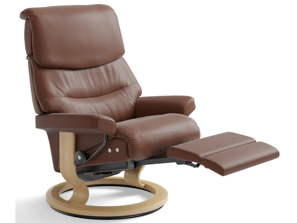 Stressless CapriLarge LegComfort Chair with Classic Base
