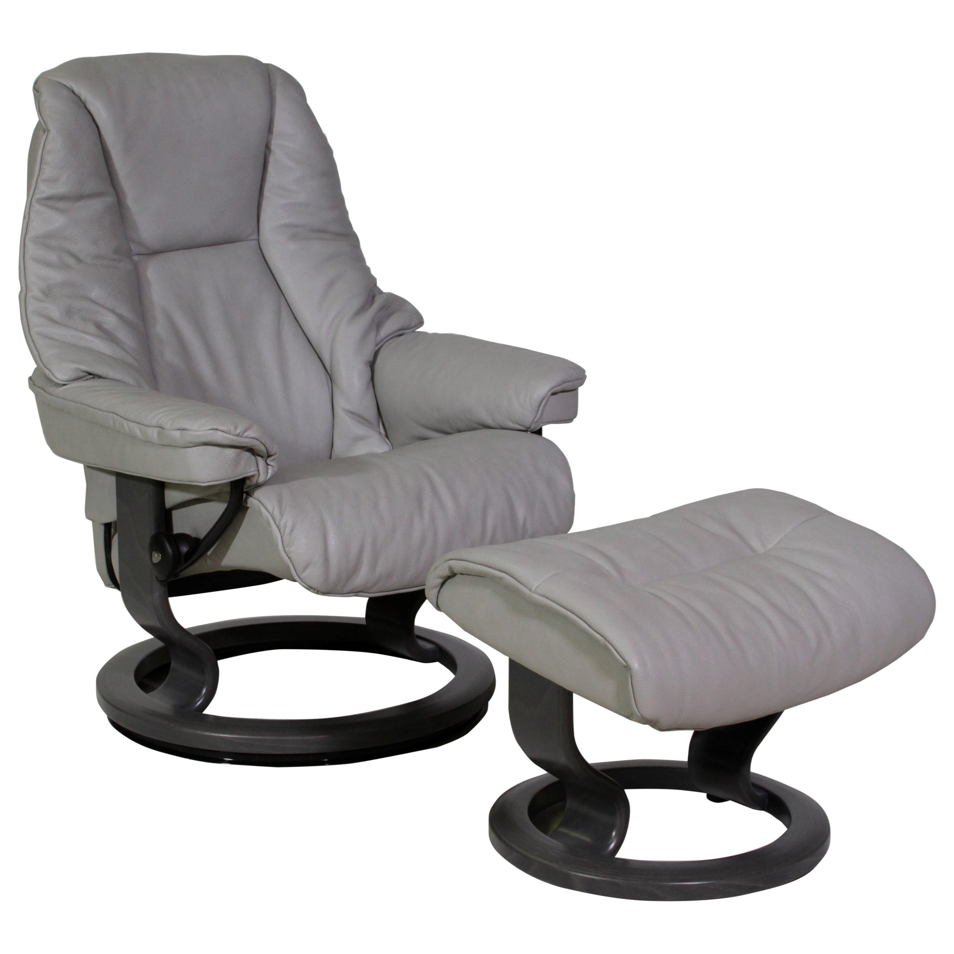 Stressless LiveSmall Stressless Chair U0026 Ottoman ...