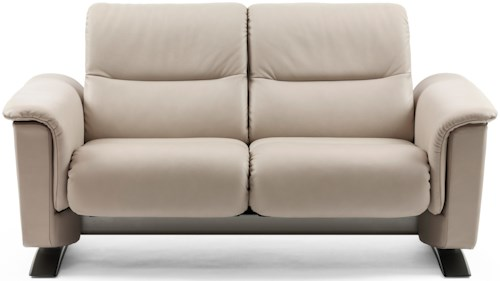 Stressless by Ekornes Stressless Panorama 2 Seater Loveseat with BalanceAdapt™ System