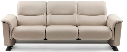 Stressless by Ekornes Stressless Panorama 3 Seater Sofa with BalanceAdapt™ System