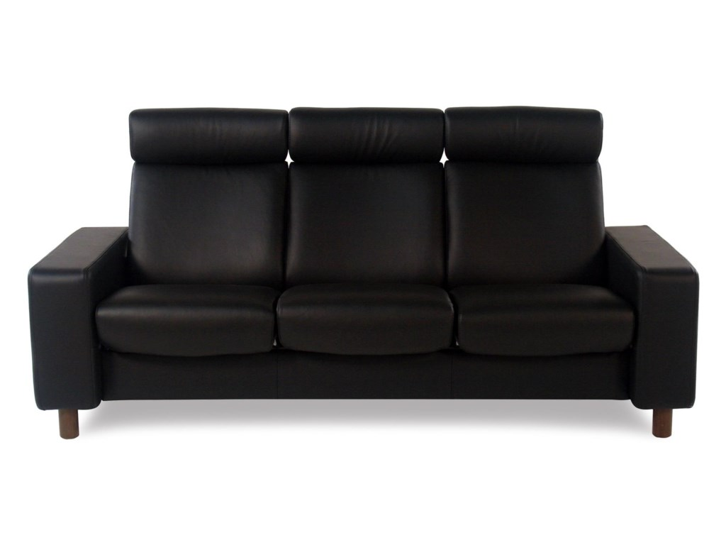 Stressless By Ekornes Pause3 Seat High Back Sofa