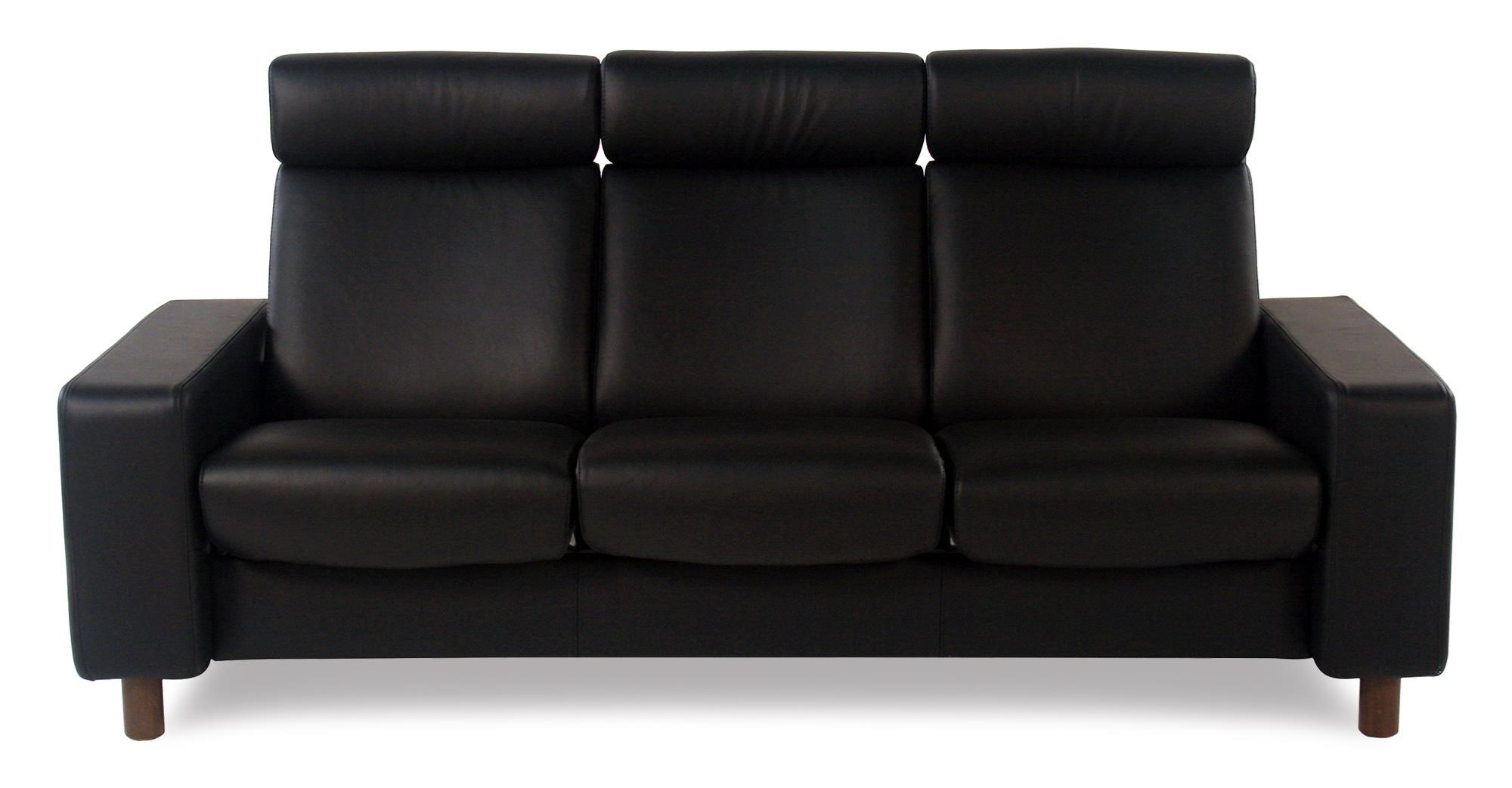 Stressless By Ekornes Stressless Pause3 Seat High Back Sofa ...
