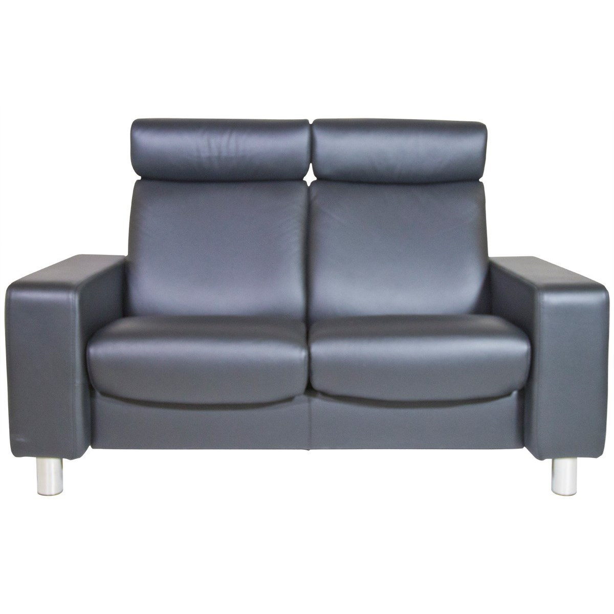 Stressless PauseHighBack Reclining Loveseat  High Back Loveseat22