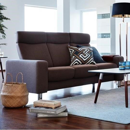 Stressless Stressless PauseHigh-Back Reclining Sofa