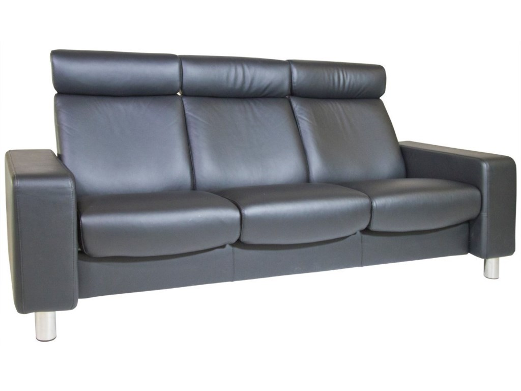 Stressless Stressless Pause High-Back Reclining Sofa | Story & Lee ...