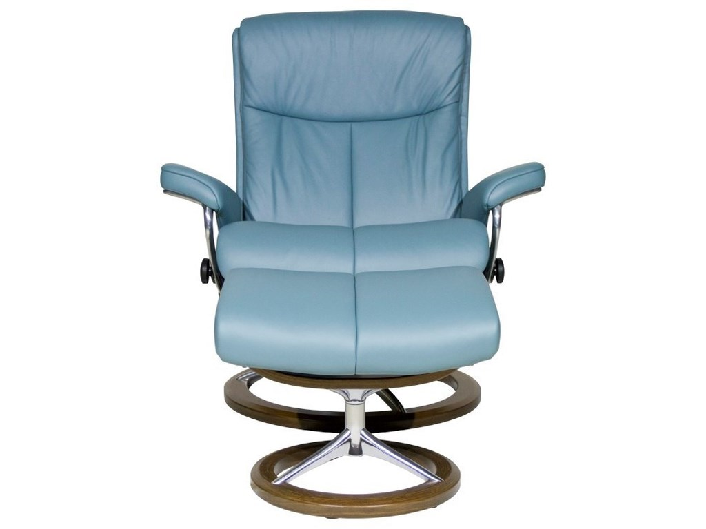 Stressless PeaceLarge Stressless Chair & Ottoman