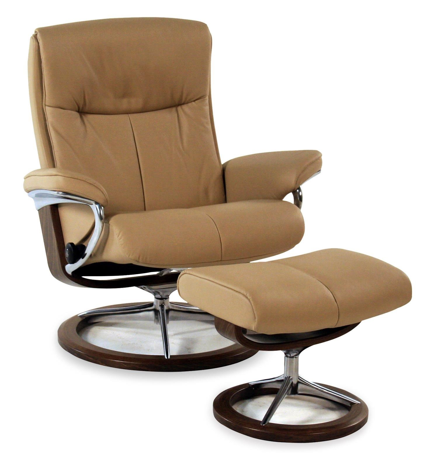 Stressless by Ekornes Stressless Peace Large Signature Reclining Chair/ Ottoman Paloma Beige  sc 1 st  Rotmans & Stressless by Ekornes Stressless Peace Large Signature Reclining ... islam-shia.org