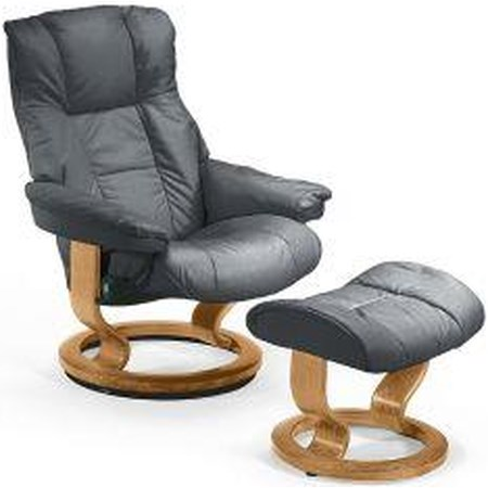 Mayfair Small Stressless Chair & Ottoman