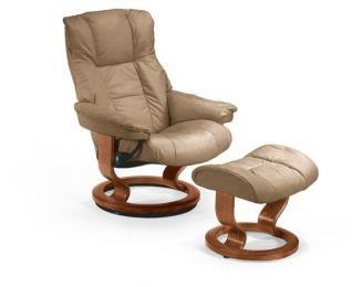 Ordinaire Mayfair Small Stressless Chair U0026 Ottoman By Stressless By Ekornes