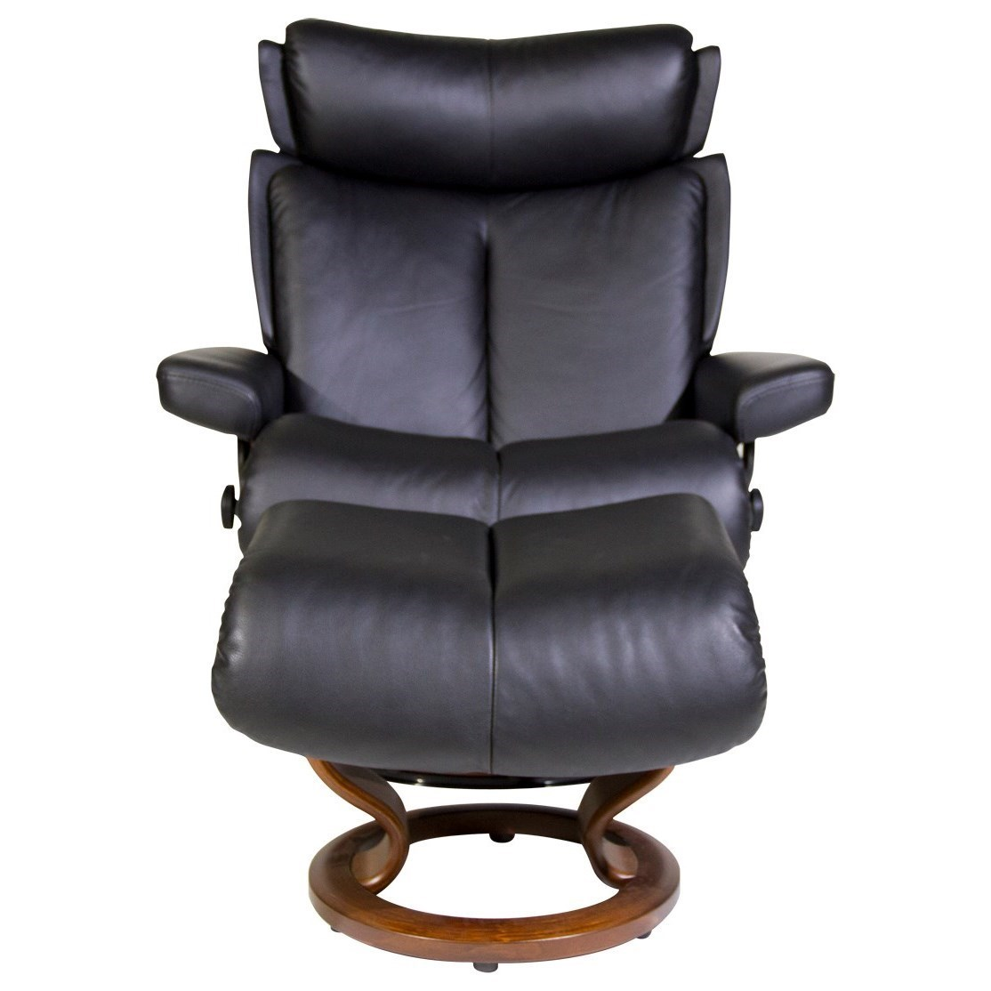 Stressless by Ekornes Stressless Recliners Magic Large Recliner and Ottoman  sc 1 st  Hudsonu0027s Furniture & Stressless by Ekornes Stressless Recliners Magic Large Recliner ... islam-shia.org