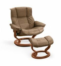 Mayfair Large Stressless Chair U0026 Ottoman By Stressless By Ekornes