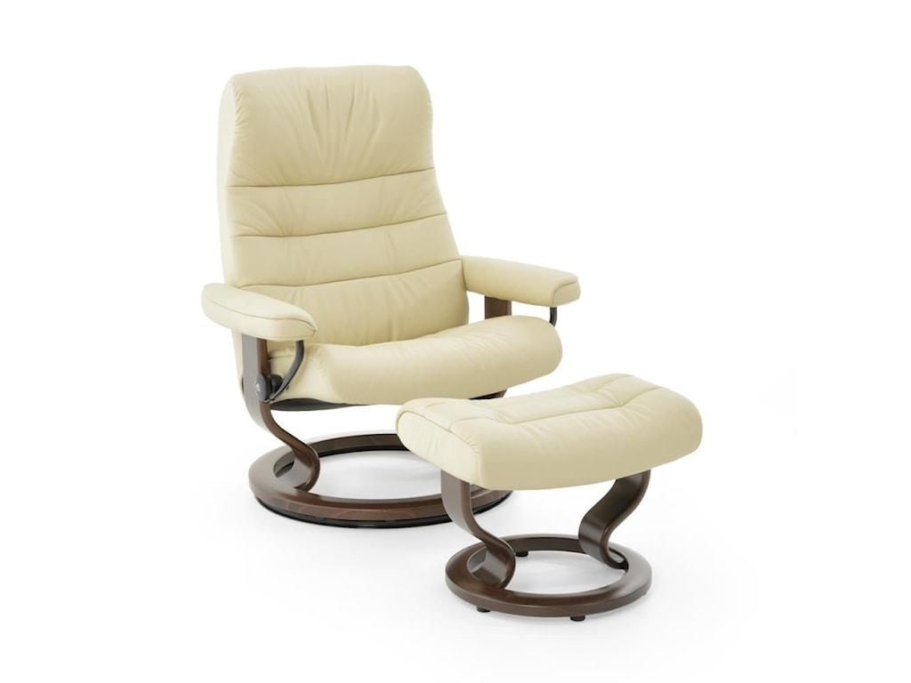 stressless by ekornes stressless recliners opal lrg paloma vanilla