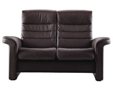 Stressless by Ekornes Stressless SapphireHigh Back Reclining 2-Seater Loveseat