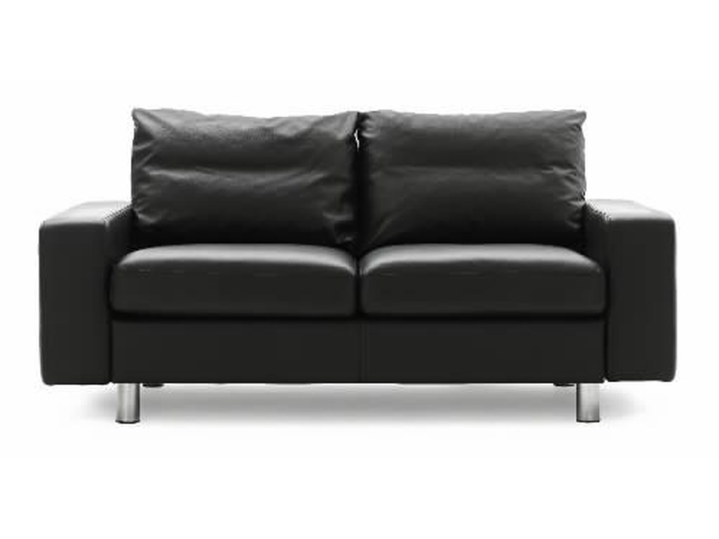 Stressless E2002-Seater Loveseat with Arms