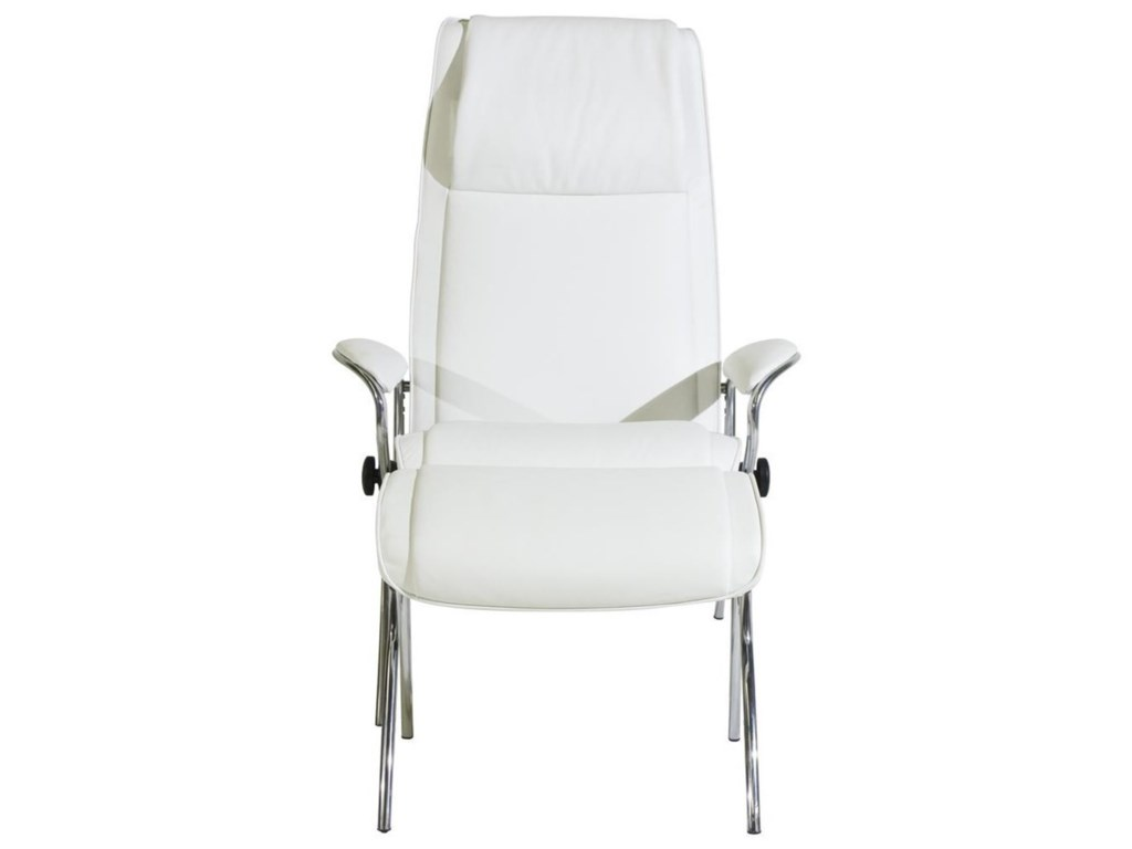 Stressless Stressless YouJames Chair & Ottoman with Aluminum Base