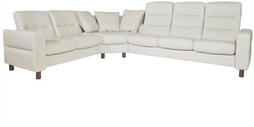 Stressless Wave 3 Piece Sectional