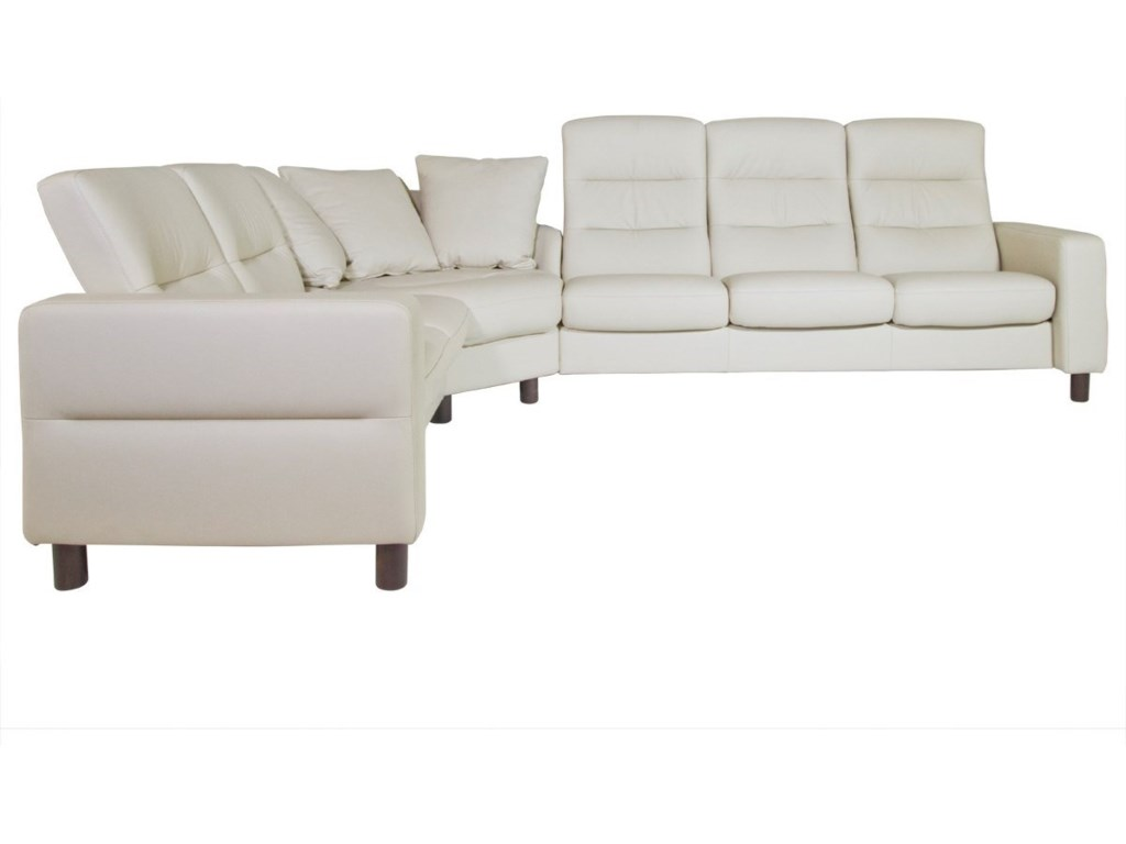 Stressless Wave3 Piece Sectional