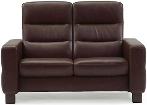 Stressless by Ekornes Wave 2 Seater Love Seat