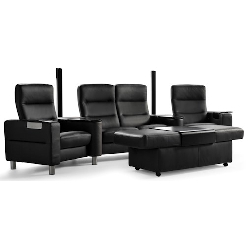 Stressless by Ekornes Wave Theater Seating