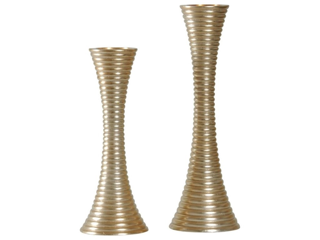 StyleCraft AccessoriesSet of Two Candle Holders