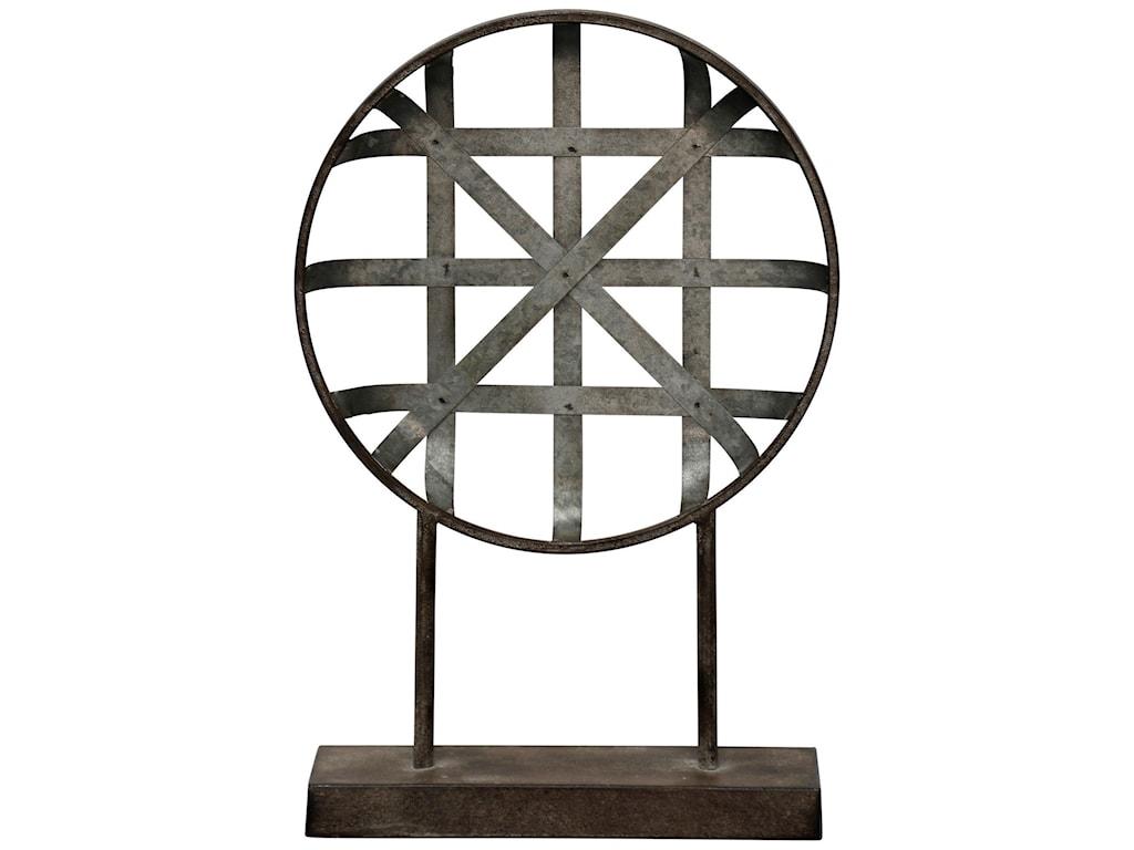StyleCraft AccessoriesGalvanized Metal Table Top Decor