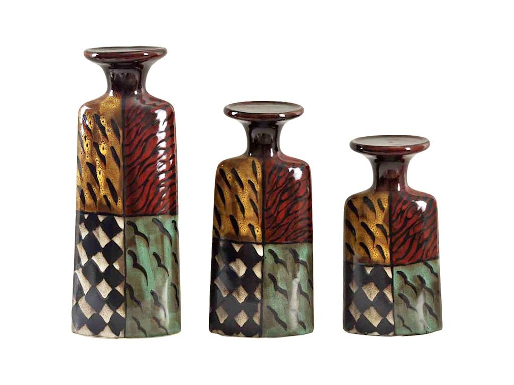 StyleCraft Accessories3 Piece Candle Holder Set