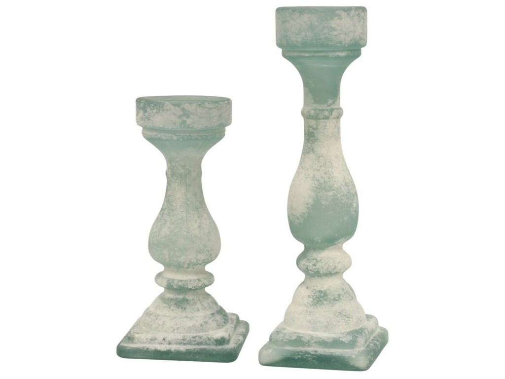 StyleCraft AccessoriesSet Of 2 Candle Holders
