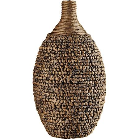 Tall Round Vase