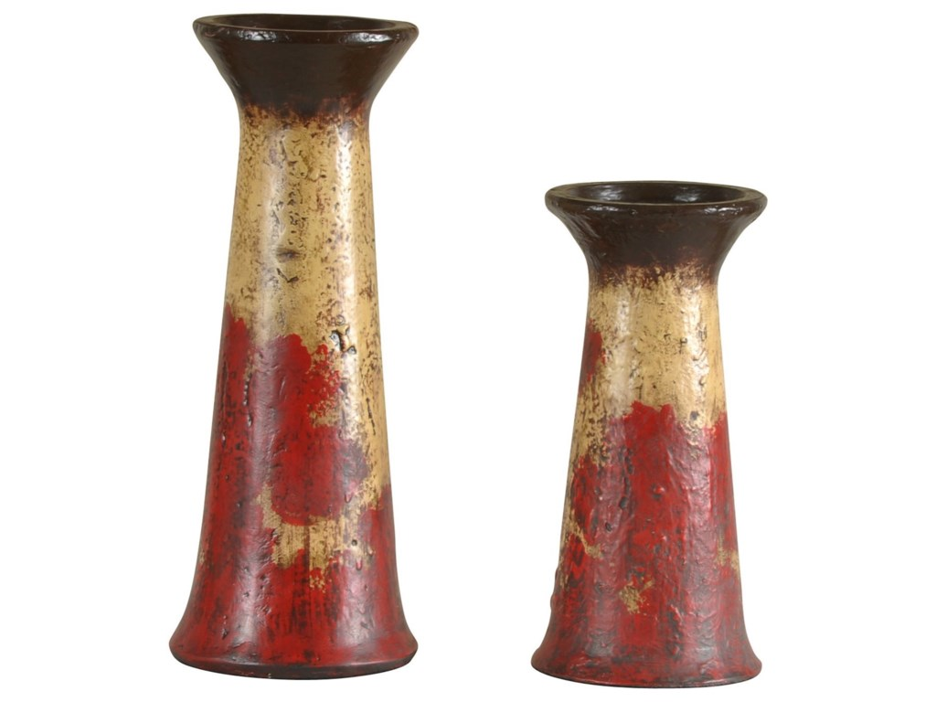 StyleCraft Accessories2 Piece Set of Candle Holders
