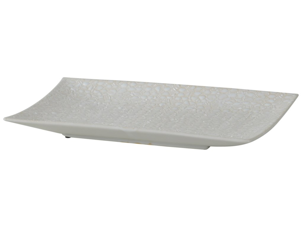 StyleCraft AccessoriesRectangular Stoneware Tray
