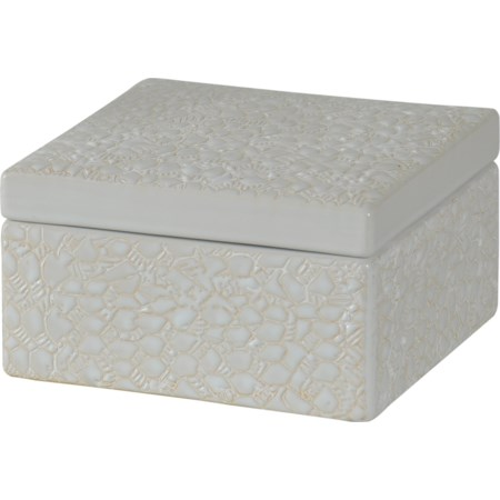 Square Stoneware Box