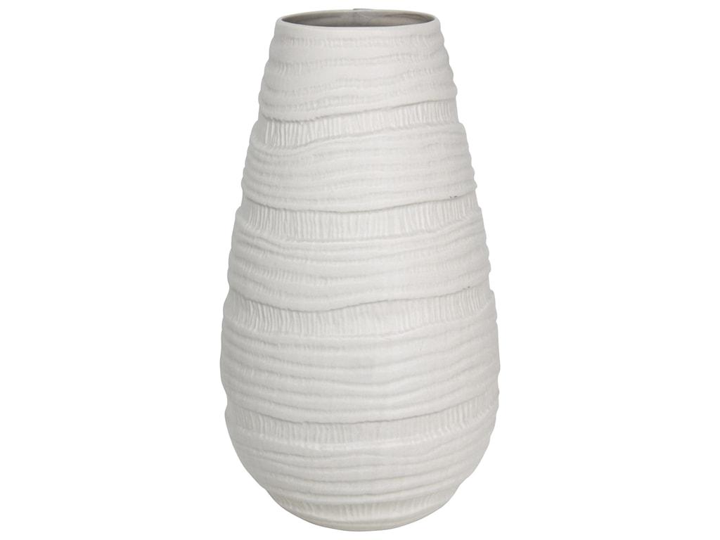 StyleCraft AccessoriesWhite Ceramic Vase