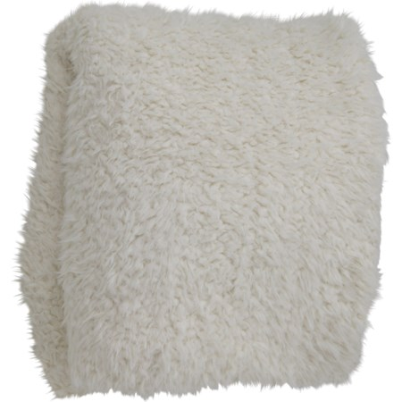 Oversized Faux Fur Throw Blanket