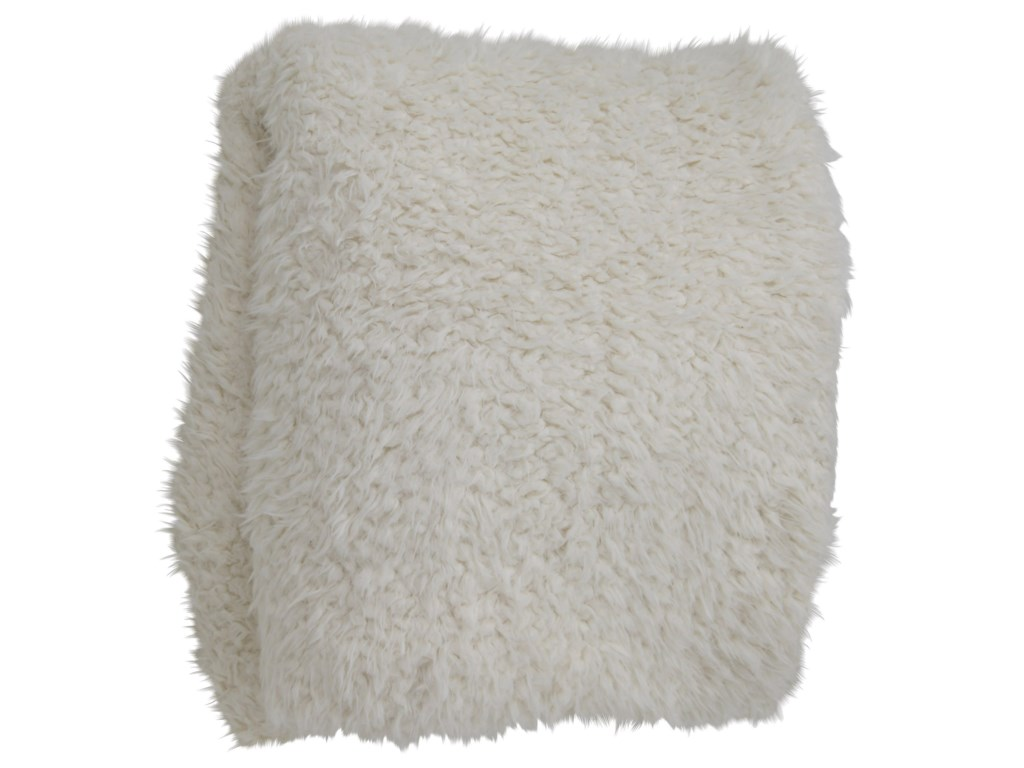 StyleCraft AccessoriesOversized Faux Fur Throw Blanket