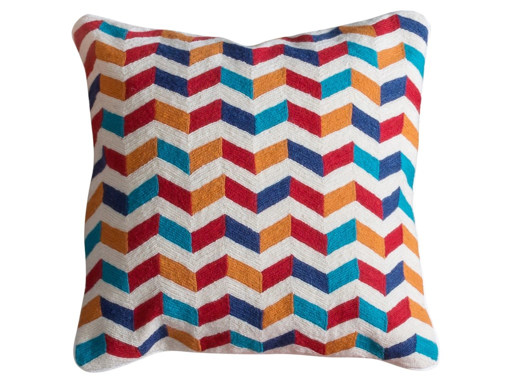 StyleCraft AccessoriesMulti-Colored Accent Pillow