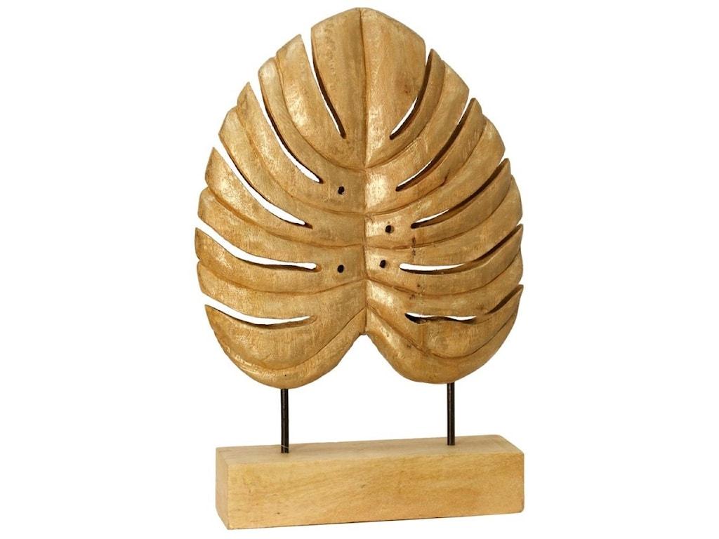 StyleCraft AccessoriesCarved Wood Leaf